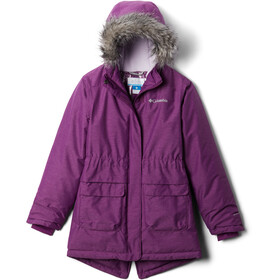 Columbia Nordic Strider Jack Meisjes, plum heather